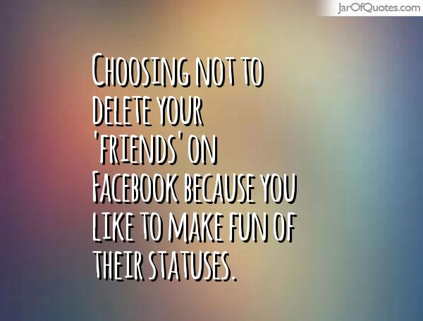 how to delete friends off facebook