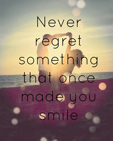 Quotes On Love And Regret: Dont Regret Quotes. QuotesGram