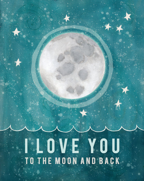 i love you to the moon and back baby quotes quotesgram