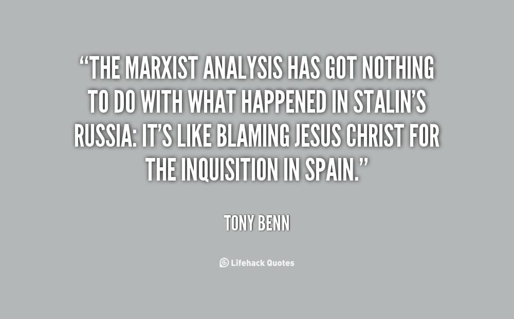 Marxist Analysis