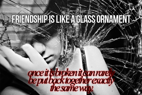 Sad Quotes About Lost Friendship Quotesgram: Broken Friendship Quotes Inspirational. QuotesGram