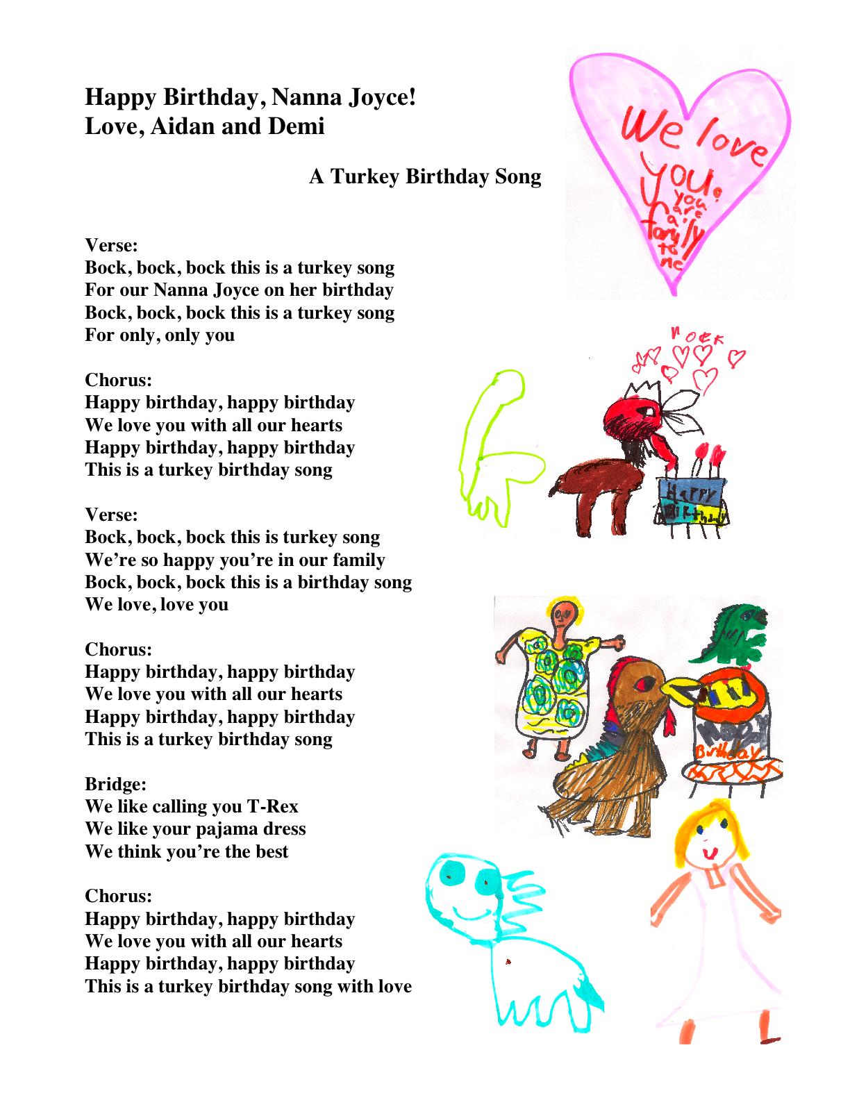 Birthday Music Quotes. QuotesGram - photo#12