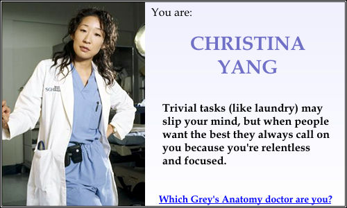 dr burke and yang relationship test