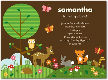 98 Sweet Baby Shower Themes for Girls for 2019   Shutterfly  Woodland Creature Baby Shower Quotes