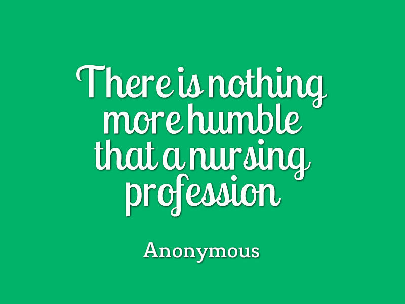 nursing as vocation or profession Nursing is an emotionally fulfilling and rewarding career, and there are tangible benefits, too see why nursing might be the career for you.