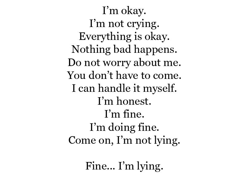 Im Okay Quotes. QuotesGram