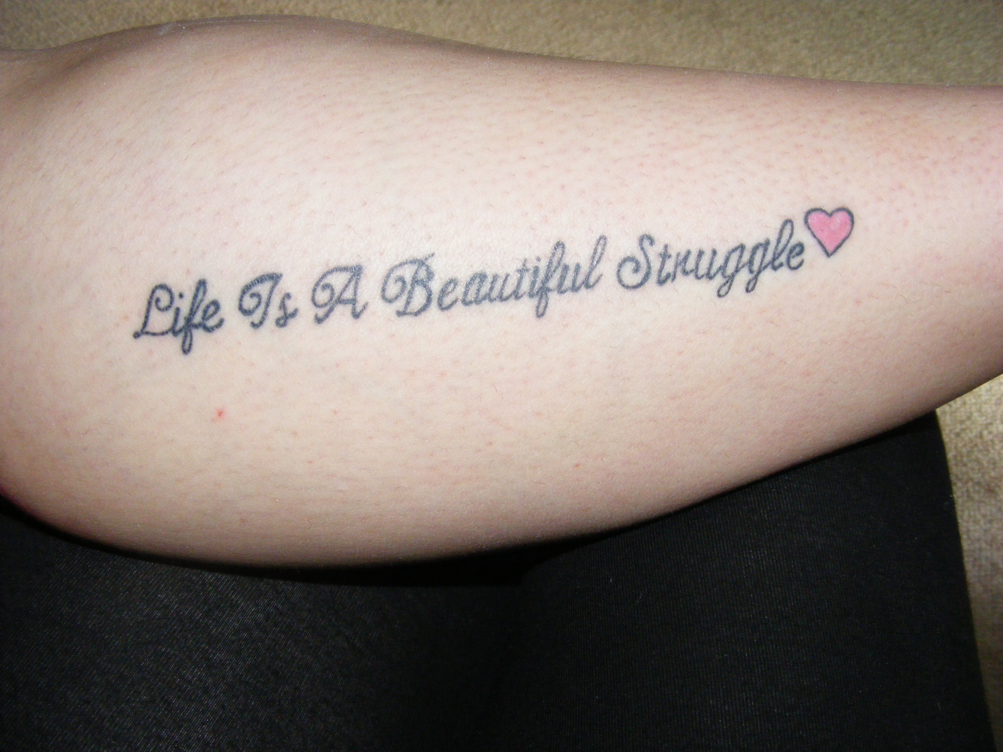 The beatles tattoo quotes