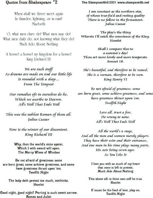 William Shakespeare Famous Quotes And Meanings: Shakespeare Quotes And Meanings. QuotesGram