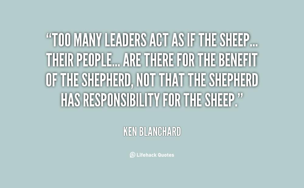 Ken Blanchard Quotes Quotesgram