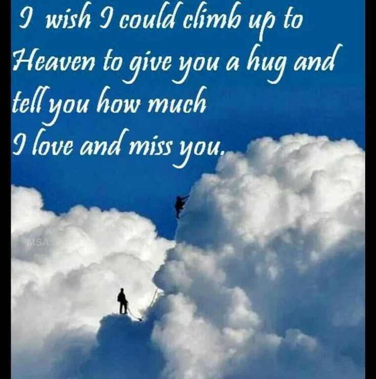 Happy Birthday Death Quotes: Husband And Dad In Heaven Quotes. QuotesGram