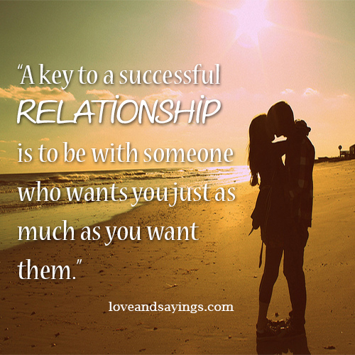 keys to successful relationship