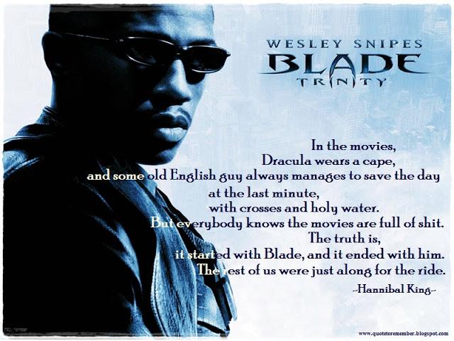 Blade Trinity Quotes Quotesgram