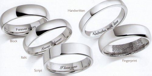 Wedding Band Engraving Quotes