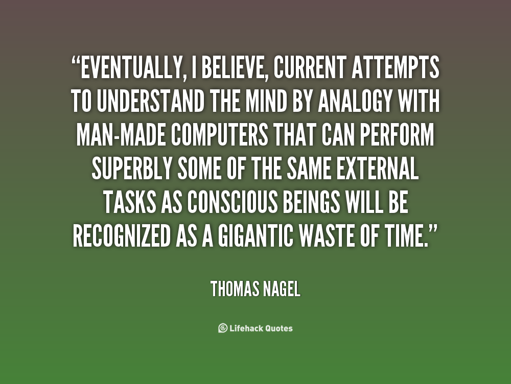 the absurd thomas nagel