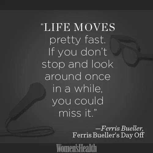 Ferris Bueller Quote: Ferris Bueller Quotes Inspirational. QuotesGram