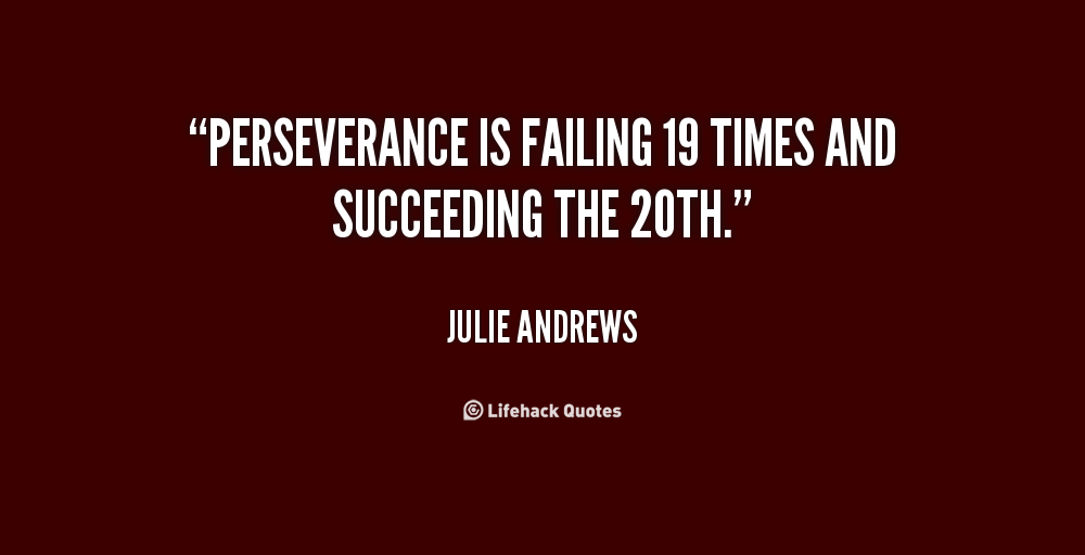 Persistence Motivational Quotes: Famous Perseverance Quotes. QuotesGram