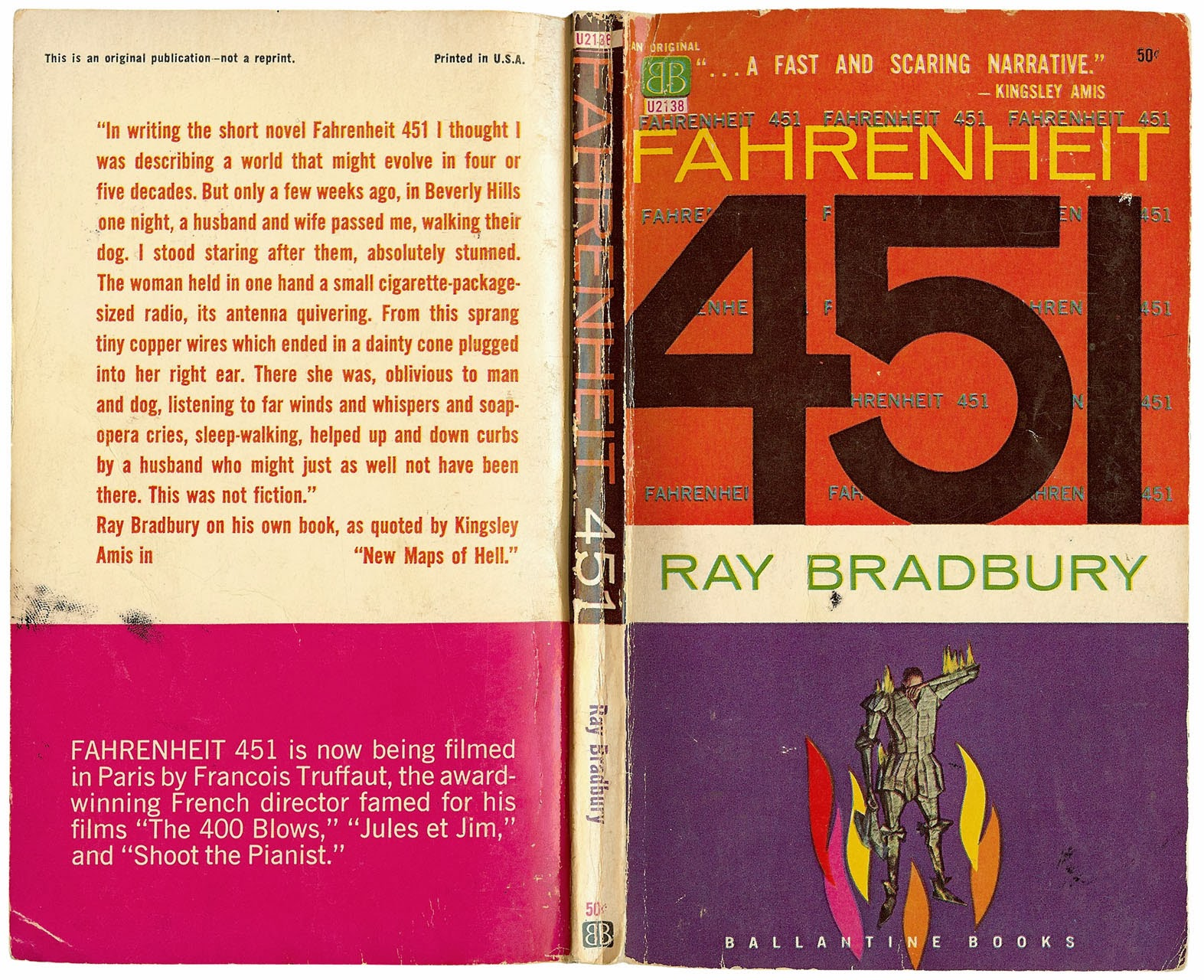 the battle against censorship in fahrenheit 451 Ray bradbury's introduction to the 1967 edition of fahrenheit 451 recalls his  in  another example, a us senator, speaking in 1953 against censorship, used the   during the cold war, anti-communism brought about a political climate of.