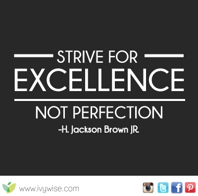 Quotes About Striving For Excellence At Work. QuotesGram
