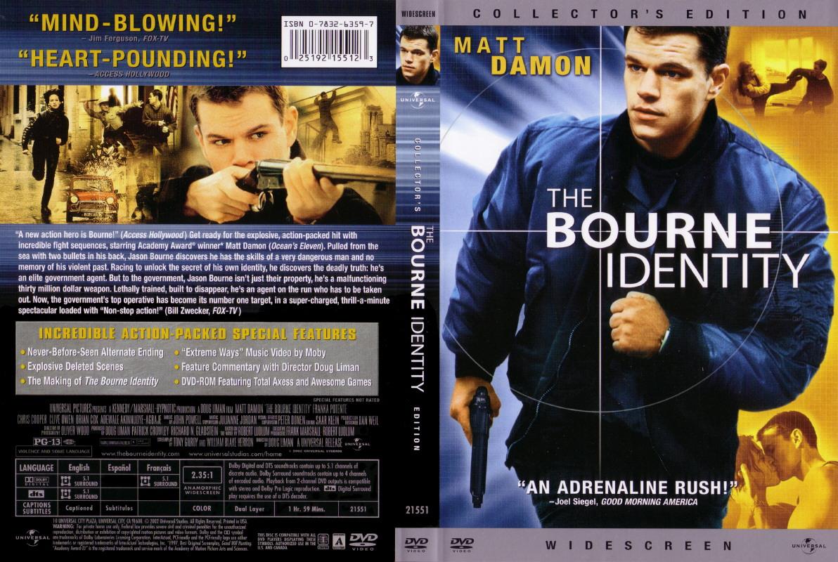 The Bourne Identity Quotes Quotesgram