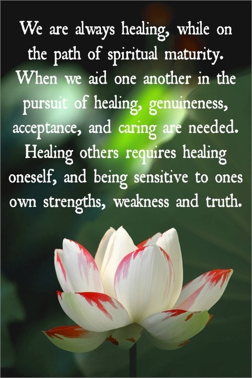 inspirational spiritual quotes for healing quotesgram