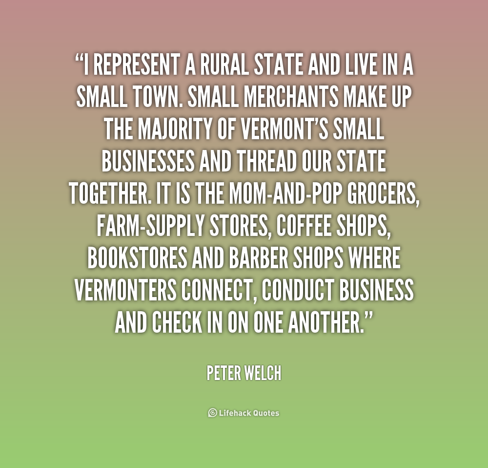 Small Quotes: Small Town Quotes. QuotesGram