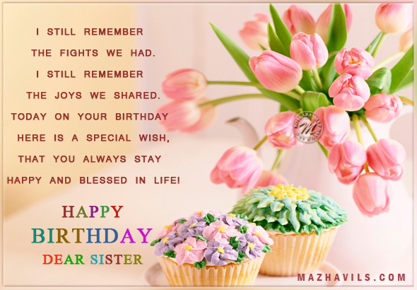 Sister Birthday Quotes For Facebook. QuotesGram