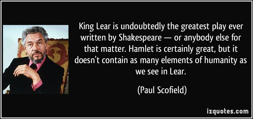 king lear visual quotation Step understand critical analysis hamlet libguides at st sample poem analysis essay visual analysis essay  in the quotation  king lear | king.