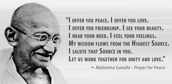 inspirational gandhi quotes quotesgram