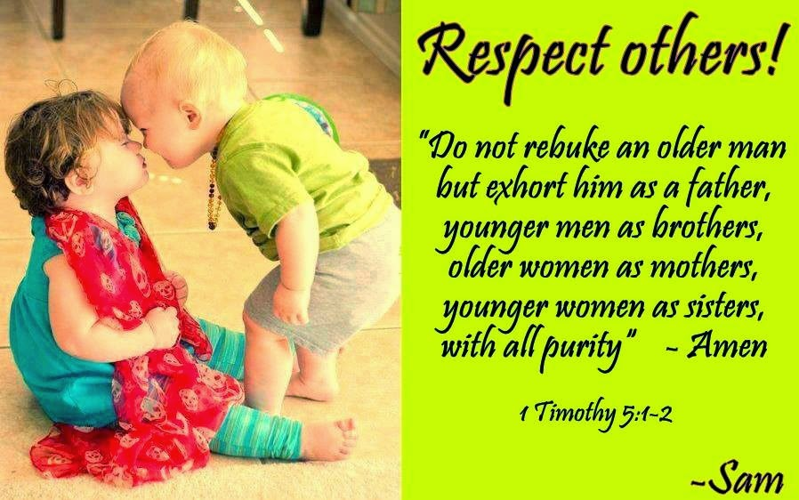bible quotes about respect quotesgram