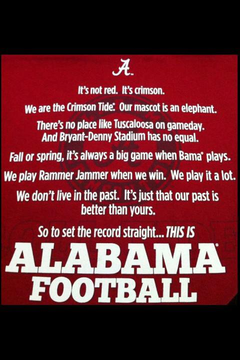 Alabama Football Quotes And Sayings Quotesgram