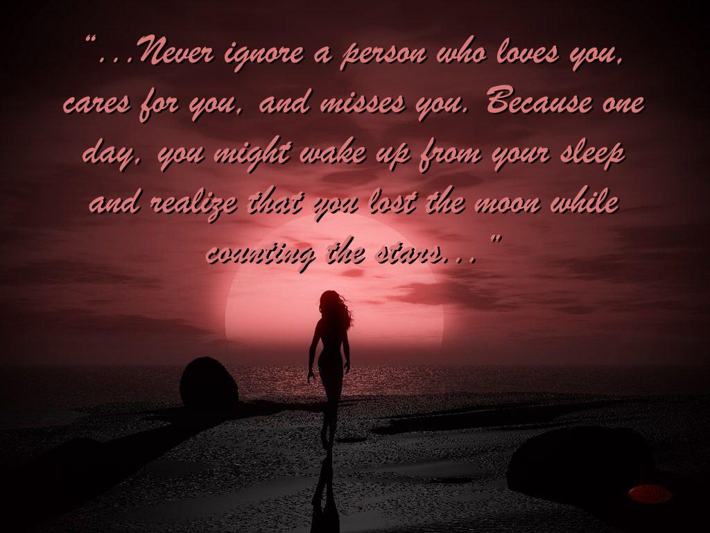 Never Ignore Quotes. QuotesGram
