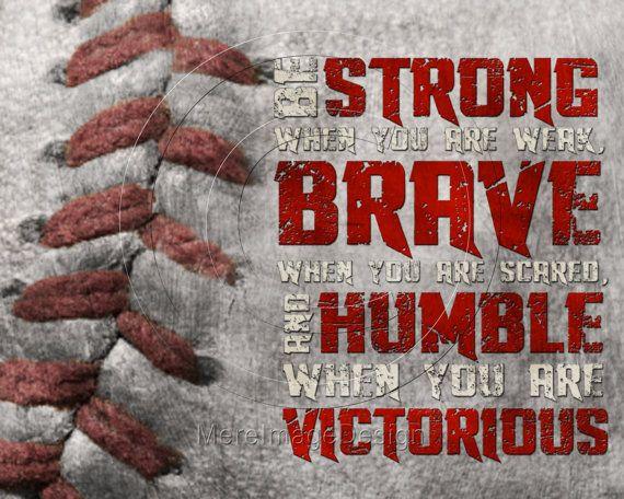 Baseball Quotes Inspirational Strength Quotesgram