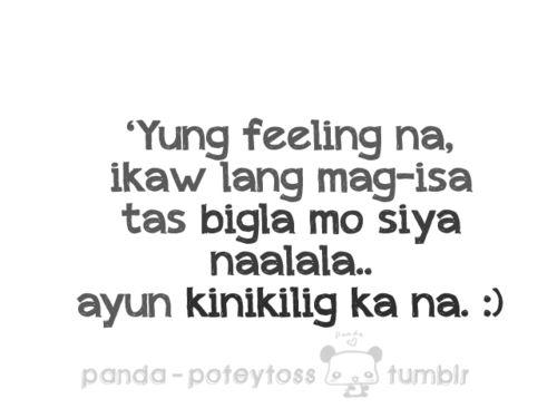 Tagalog Missing Someone Quotes: Feeling Mayaman Tagalog Quotes. QuotesGram