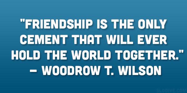 Ww1 Woodrow Wilson Famous Quotes Quotesgram