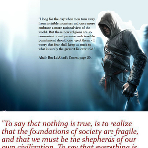 Quotes From Assassins Quotesgram