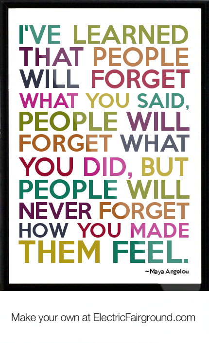 Maya Angelou Framed Quotes Quotesgram