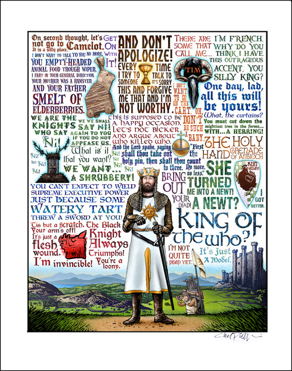 the holy grail movie quotes quotesgram