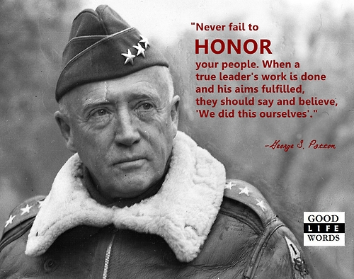 george patton and leadership theory Lt gen george s patton jr briefs a group of soldiers in england in 1944  i am  sure that if every leader who goes into battle will promise him.