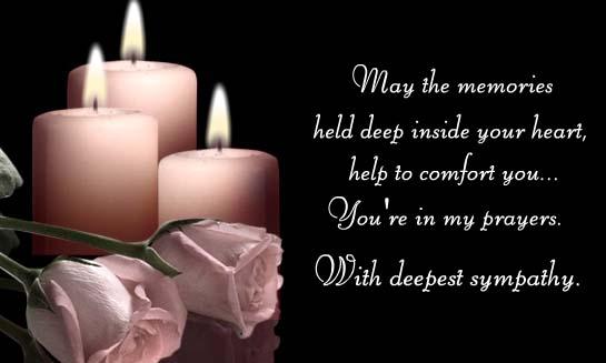 Condolences Prayers Quotes. QuotesGram