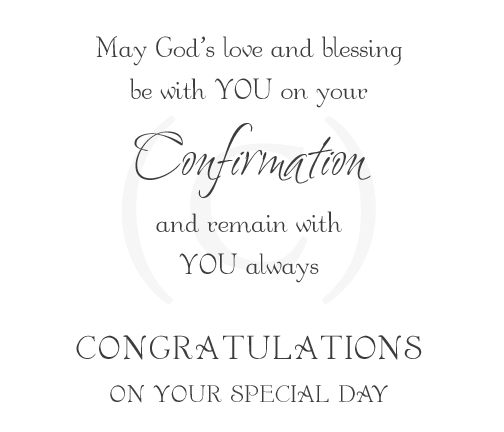 Quotes For Confirmation Cards. QuotesGram