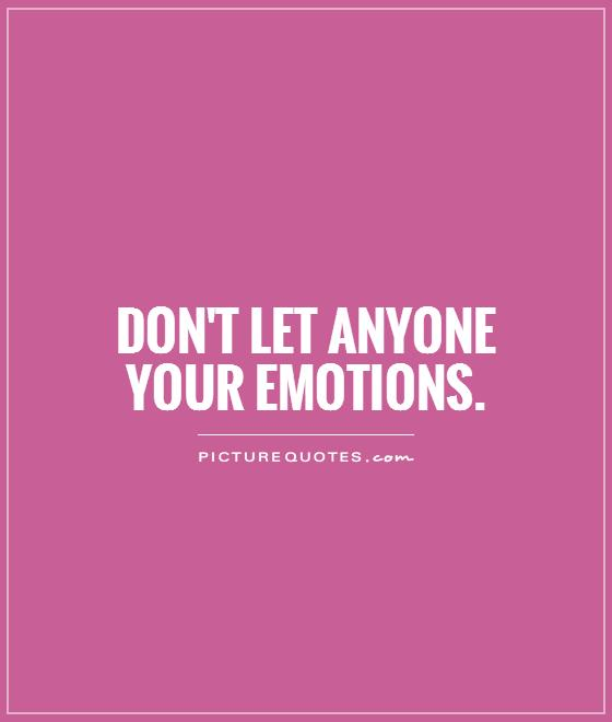 i control my emotion I would say that b, the victim, got the short end of this stick, wouldn't you lack of  emotional control can literally ruin your day, and take a swath.