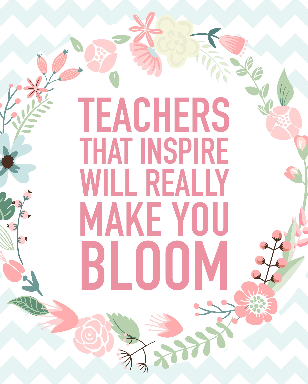 Teacher Appreciation Quotes With Flowers. QuotesGram