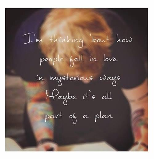 Ed Sheeran Thinking Out Loud Quotes. QuotesGram
