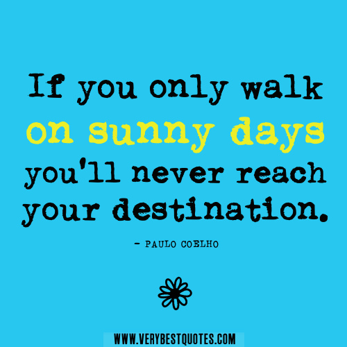 Inspirational Day Quotes: Inspirational Quotes About Sunny Days. QuotesGram