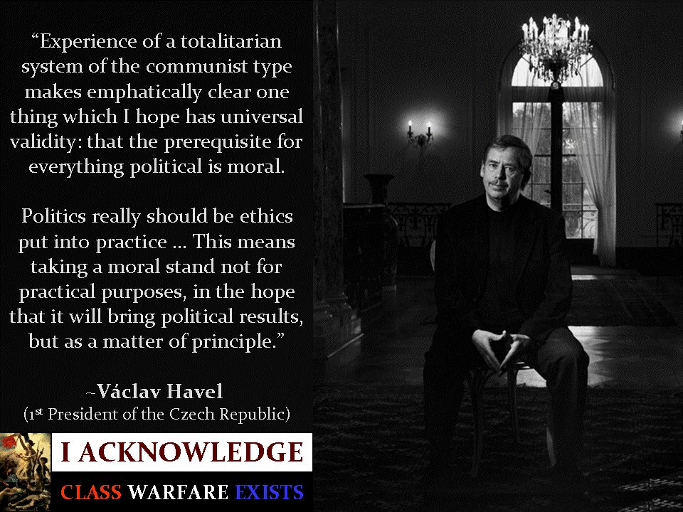 vaclav havel hope essay By vaclav havel, in: politics and conscience: an essay by vaclav havel and the greater the hope that ours will not be a voice crying in the wilderness.