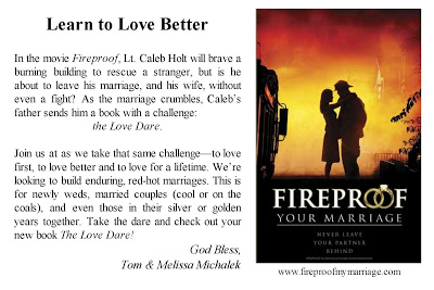 Quotes From Fireproof Love Dare. QuotesGram