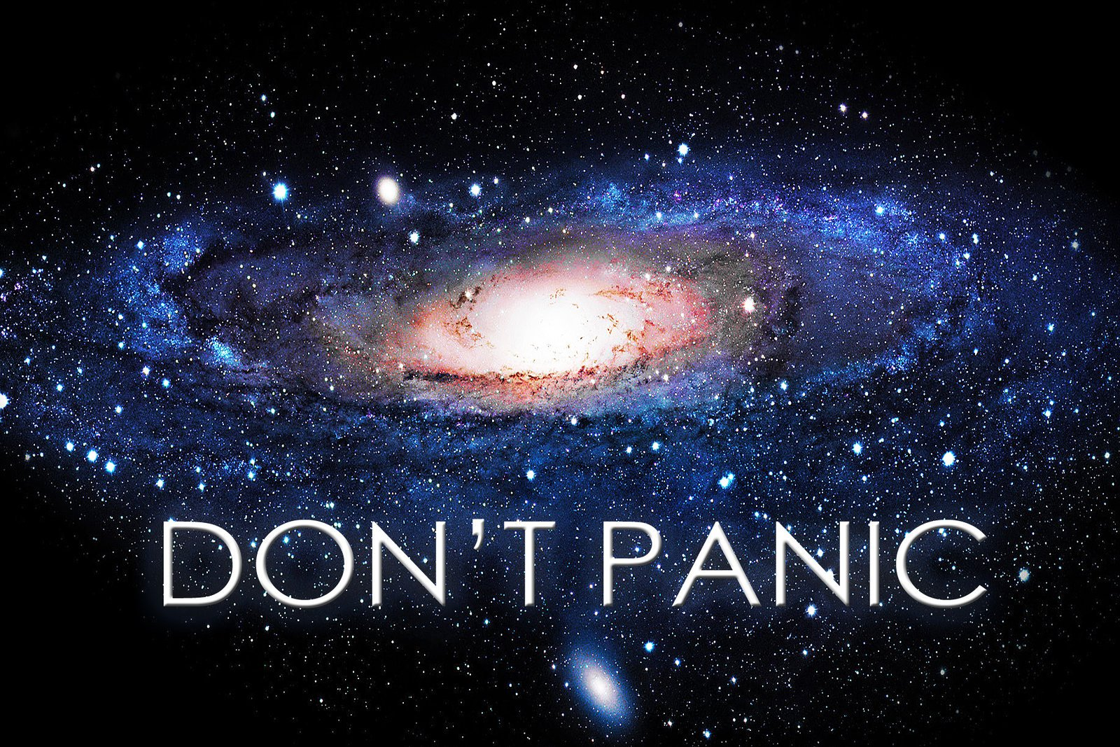 The Hitchhiker S Guide To The Galaxy Hd Wallpaper Background