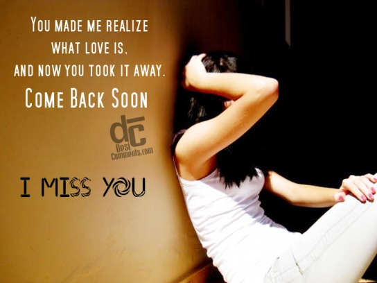 I miss you so much come back soon poster sophy keep 600x700
