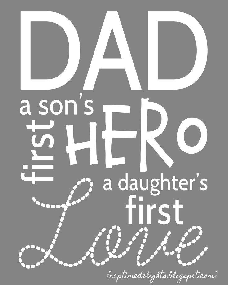 Daughter Dad Hero Quotes. QuotesGram