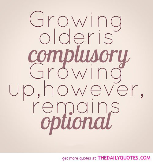 Inspirational Quotes On Pinterest: Inspirational Quotes About Growing Older. QuotesGram